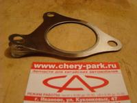 Прокладка приемной трубы и катализатора (ПРАВИЛЬНАЯ) Chery Fora / Tiggo 1,8