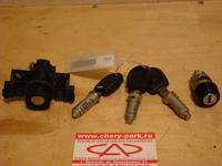 Комплект ключей и личинок Chery Amulet